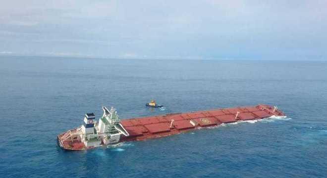 A Marinha declarou que as causas do acidente ainda não foram identificadas