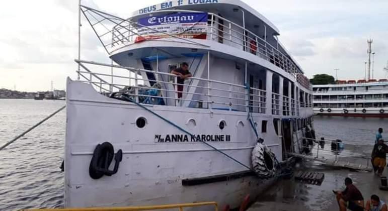 Embarcação naufraga no sul do estado do Amapá