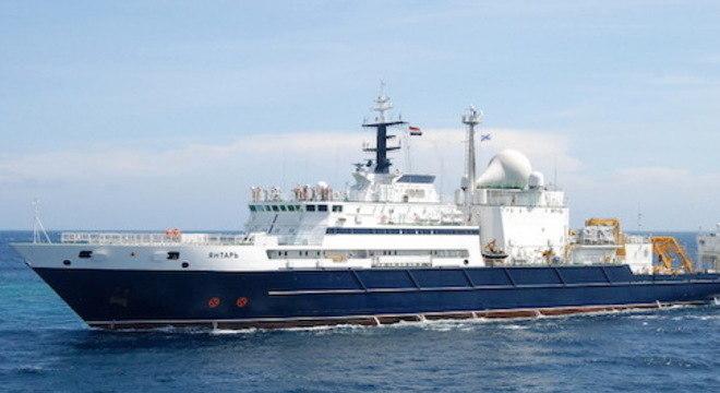 Aparentemente, aparelho que permite localização do navio russo foi desligado