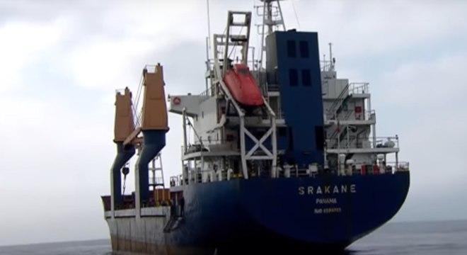 Tripulantes do navio panamenho Srakane voltarão para suas casas