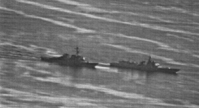 Episódio no Mar da China: Navios dos EUA e da China quase se chocaram