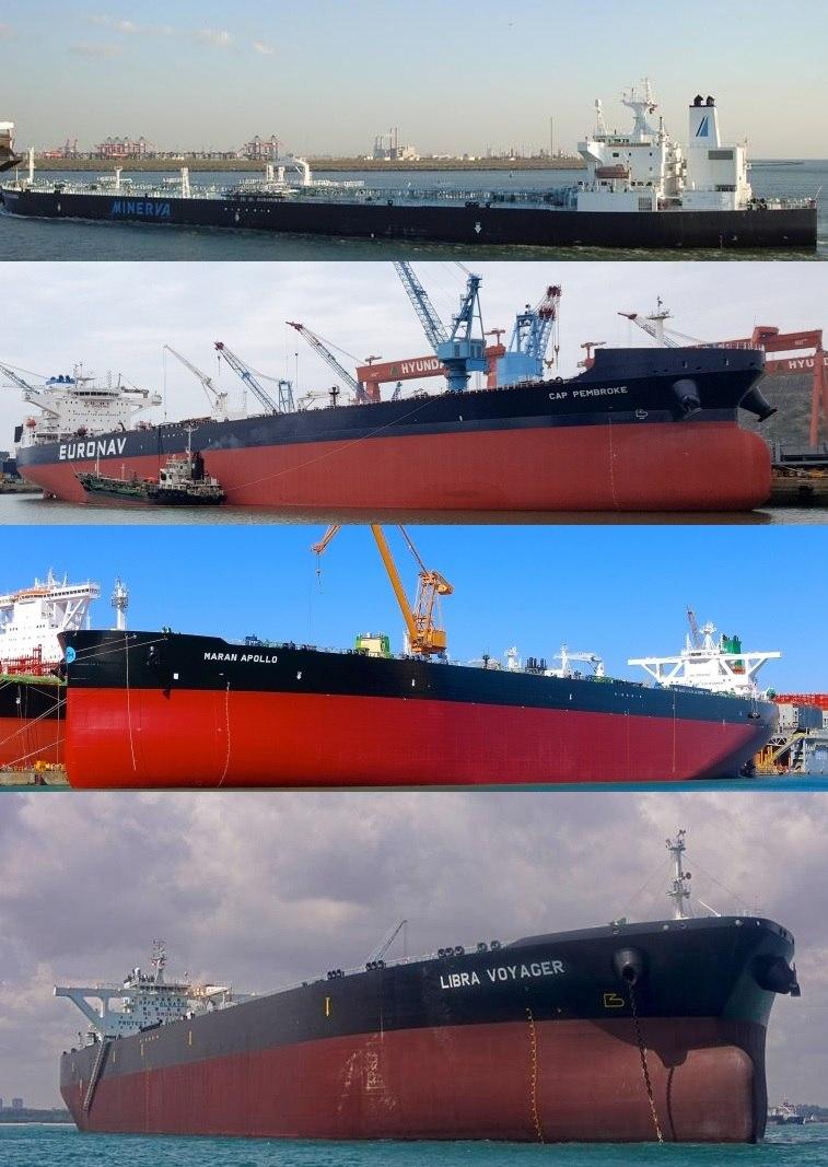 Todos os navios são de bandeira grega