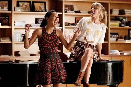 Naya e Heather contracenaram juntas no seriado