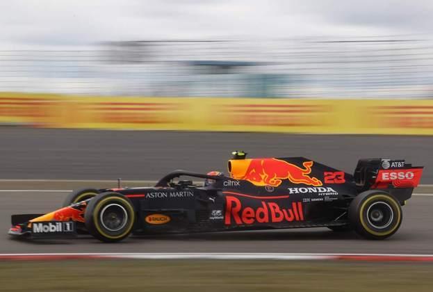 NC - Alex Albon (Red Bull) - 3.50 - Muito apagado enquanto correu. Pouquíssimo destaque