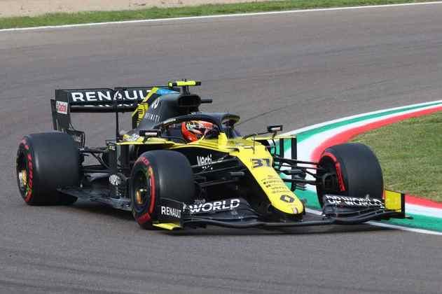NC - Esteban Ocon (Renault): 4.76 - Corrida era modesta até abandono. Caminhava para perder do companheiro de novo