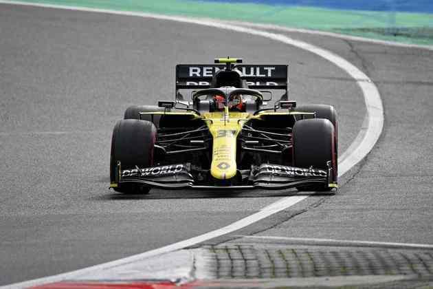 NC -  Esteban Ocon (Renault) - 5.06 - Não andava no ritmo do companheiro antes dos problemas mecânicos atacarem de novo