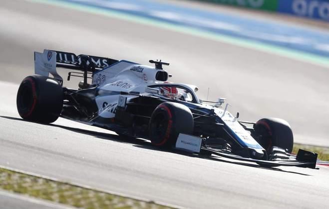 NC - George Russell (Williams) - 4.66 - Não tinha cara que brigaria por pontos, mas Kimi Räikkönen tratou de acabar com qualquer chance no acidente