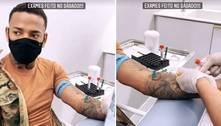 Nego do Borel mostra exames e nega que transmitiu HPV a Duda