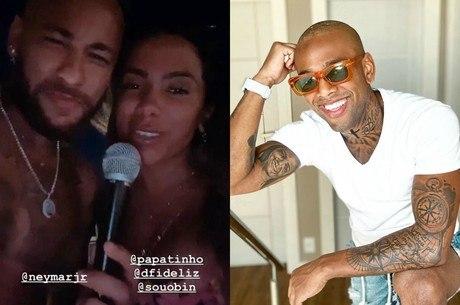 Cantor cobrou por convite de Anitta e Neymar Jr.