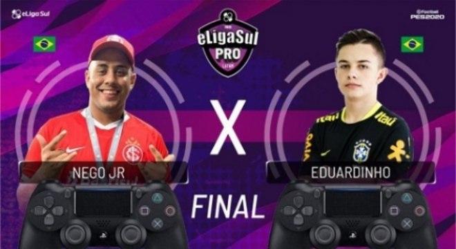 Nego Jr e Eduardinho decidirão a ELIGASUL Pro Latam na Segunda-feira
