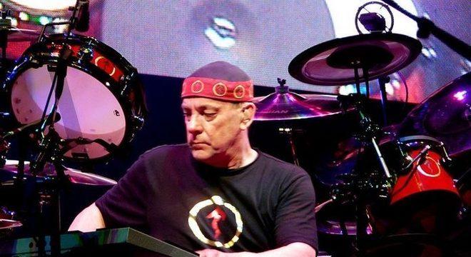 Neil Peart, baterista do Rush