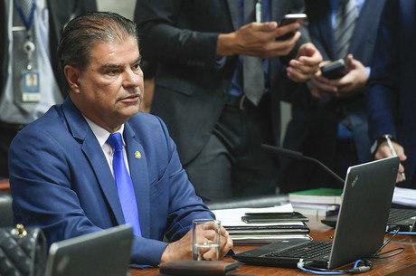 Na imagem, senador Nelsinho Trad, presidente da CRE