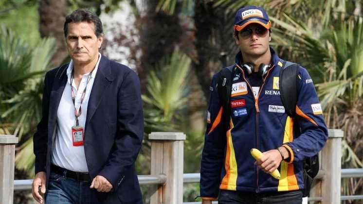 Nelson Piquet é tricampeão mundial de Fórmula 1, e acompanhou a carreira do filho Nelsinho, que alinhou no grid pela Renault entre 2008 e 2009, passagem que teve o escândalo de Singapura