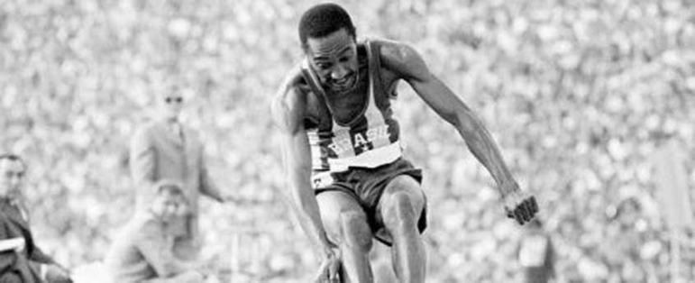 Assim como Adhemar Ferreira da Silva, o paulista Nelson Prudêncio foi duas vezes medalhista olímpico no salto triplo. Nos Jogos da Cidade do México, em 1968, ele foi prata. Quatro anos mais tarde, em Munique, na Alemanha, o atleta ficou com o bronze na mesma modalidade olímpica