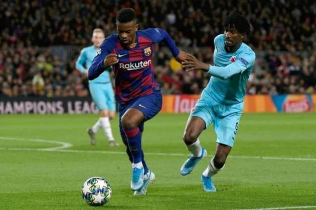 Nelson Semedo - 124 jogos pelo Barcelona, dois gols e 11 assistências.