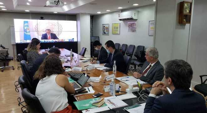 Encontro virtual contou com a participação do diretor da OMS