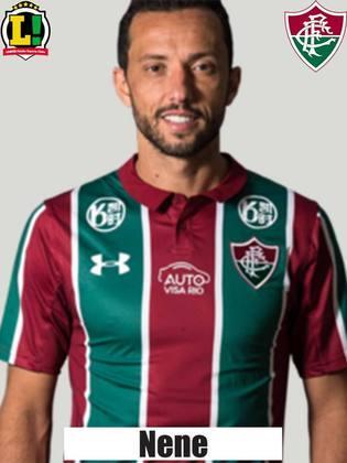 Nenê: 5,0 – Aparece mais em lances de bola parada pela sua qualidade. Como o Fluminense quase não teve chance desta forma, fez partida discreta e saiu no segundo tempo.