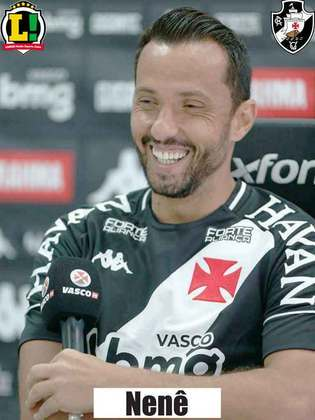 Nenê - 7,5 - Melhor em campo pelo Vasco. Fez gol e se movimentou bem pelos dois lados do campo.