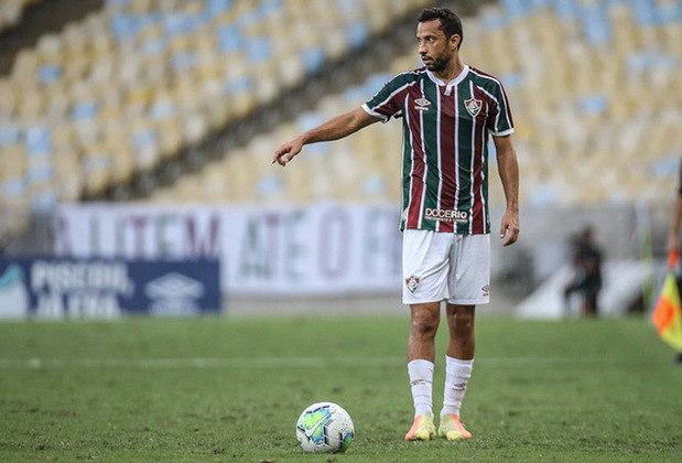 Nenê - Meia - 39 anos - Fluminense: Outro experiente atleta que vêm jogando bem no Fluminense é Nenê. Ele tem dois gols e cinco assistências na temporada, e não mostra sinais de desgaste.