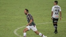 Nenê decide, Fluminense vence o Santos por 1 a 0 e sobe para quinto