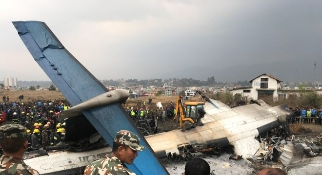 O aerporto da capital do Nepal foi fechado e teve seus voos redirecionados