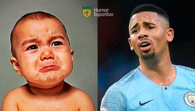 Nesse Dia das Crianças, o Humor Esportivo mostra algumas versões mirins de alguns nomes do mundo do futebol. Para começar, Gabriel Jesus já parecia estar chorando, mas ele estava feliz.