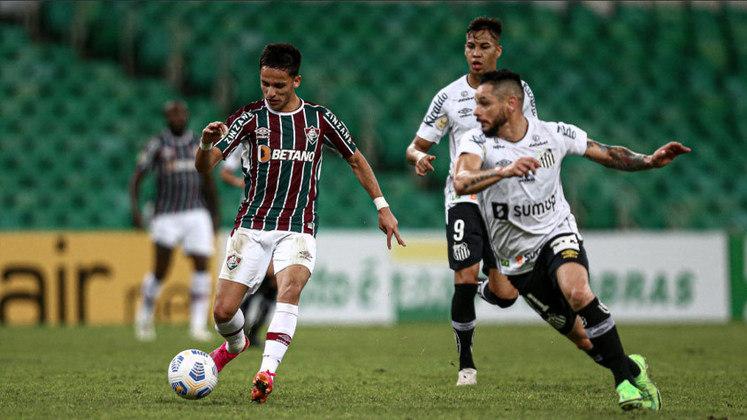 Nesta quinta-feira, o Fluminense venceu o Santos por 1 a 0, no Maracanã. Segunda vitória do tricolor em 4 rodadas, o clube subiu para a quinta posição na classificação do Brasileirão. Confira a nota dos jogadores a seguir.