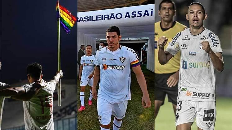 Nesta segunda-feira, dia 28 de junho, é comemorado o Dia Internacional do Orgulho LGBTQIA+ e os principais clubes do Brasil prestaram homenagens à data durante as partidas e em suas redes sociais.