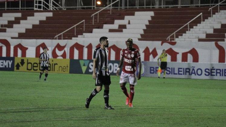 Nesta sexta-feira, o Botafogo estreou na Série B contra o Vila Nova, no Estádio Onésio Brasileiro Alvarenga, em Goiânia. A partida terminou empatada em 1 a 1, e os gols foram marcados por Willian Formiga, para o Tigre, e Rafael Navarro, para o Glorioso. Veja as notas a seguir: