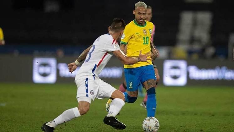 Nesta sexta, o Brasil venceu o Chile por 1 a 0 no Estádio Nilton Santos, em jogo válido pelas quartas de final da Copa América. Logo após entrar em campo, Paquetá marcou para o Brasil e classificou a Seleção para a semifinal, que será contra o Peru. Confira a nota dos jogadores a seguir.