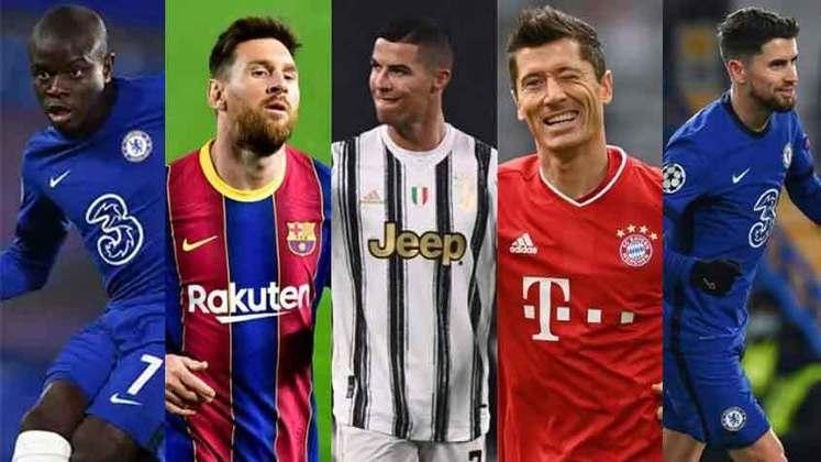 Nesta temporada, grandes nomes do futebol brilharam nos gramados, para aumentar ainda mais a disputa do prêmio de melhor jogador do mundo. Com a Copa América e a Eurocopa, a concorrência apenas cresceu. Conheça os principais concorrentes. Eles estão listados por ordem alfabética