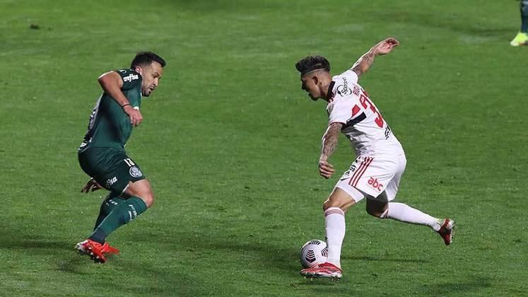 Nesta terça-feira (10), o São Paulo recebeu o Palmeiras no Morumbi para a primeira partida das quartas de final da Libertadores. A partida terminou empatada por 1 a 1, com gols de Luan e Patrick de Paula. Confira as atuações individuais dos jogadores do São Paulo.