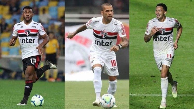 Nesta terça-feira, o volante Luan renovou contrato com o São Paulo até dezembro de 2023. Com isso, o LANCE! mostra a duração dos vínculos dos jogadores do Tricolor, de acordo com o site 'Transfermarkt'