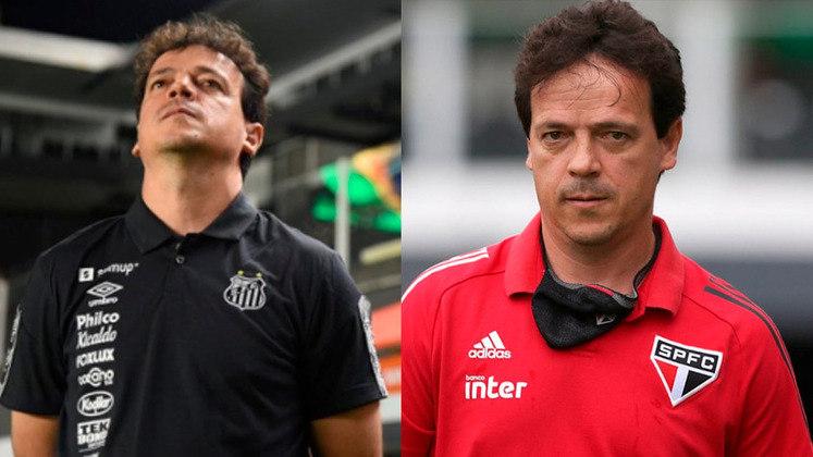 Neste domingo, às 18h15, Santos e São Paulo se enfrentam na Vila Belmiro, pelo Brasileirão. Será o reencontro do Tricolor, com seu ex-técnico Fernando Diniz, que hoje está no Peixe. Sendo assim, a reportagem mostra outros treinadores que comandaram as duas equipes na carreira neste século.