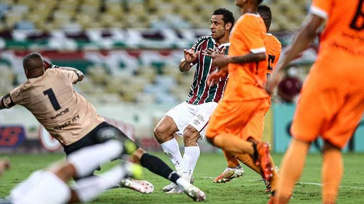 Neste domingo, o Fluminense venceu o Nova Iguaçu por 2 a 1, no Maracanã, em jogo válido pela nona rodada do Campeonato Carioca. Os gols do Tricolor foram marcados por Kayky - após linda jogada individual - e Fred, que fez seu tento de número 400 na carreira. Pelo Nova, Anderson Kunzel diminuiu. Veja as notas a seguir: