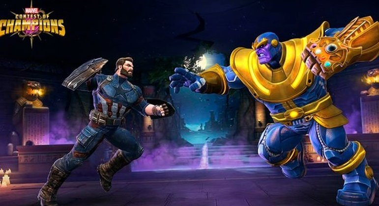 Neste jogo é possível reunir uma equipe, com personagens dos Vingadores até do X-Men, heróis e vilões, para batalhas épicas pelo universo e lutar em missões.