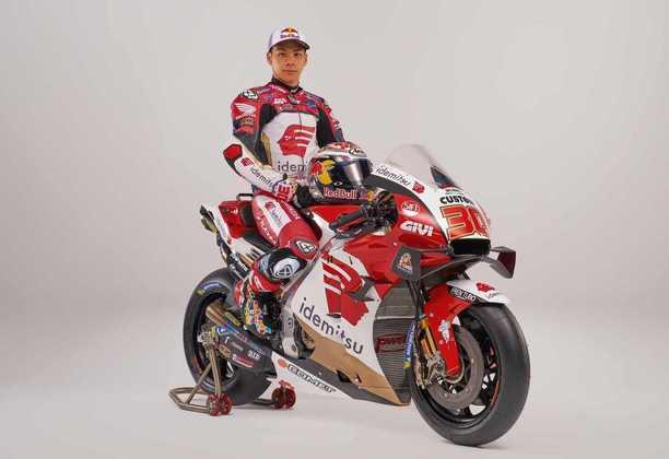 Neste sábado (20), foi a vez da moto de Takaaki Nakagami ser apresentada para o público