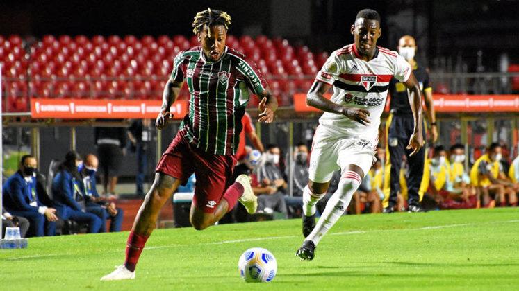 Neste sábado, o Fluminense estreou no Campeonato Brasileiro contra o São Paulo, no Morumbi. Em partida truncada, Nenê perdeu pênalti e o jogo acabou encerrado em 0 a 0. Confira as notas a seguir: