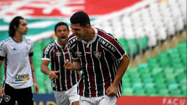 Neste sábado, o Fluminense venceu o Botafogo por 1 a 0, no Maracanã, em jogo válido pela 10ª rodada do Campeonato Carioca. Graças ao gol de Nino, o Tricolor conseguiu garantir com uma rodada de antecedência a classificação para às semifinais da competição. Veja as notas a seguir: