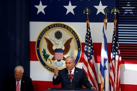 Netanyahu agradeceu Donald Trump