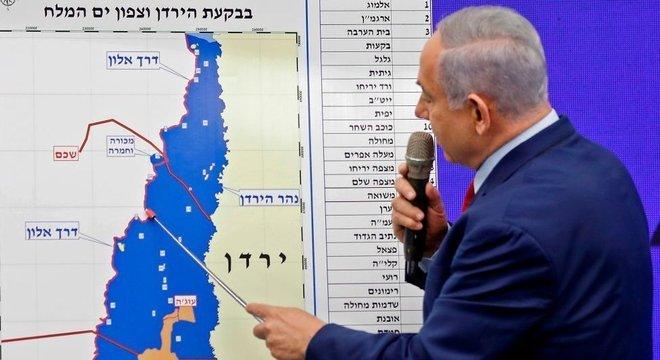 O primeiro-ministro israelense anunciou seus planos em discurso na TV