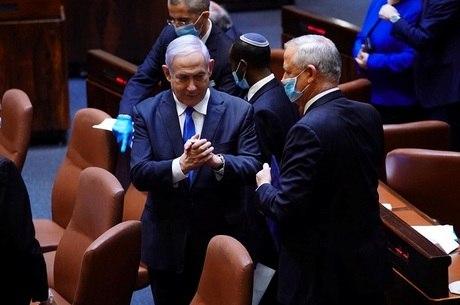 Netanyahu e Gantz acertaram coalizão