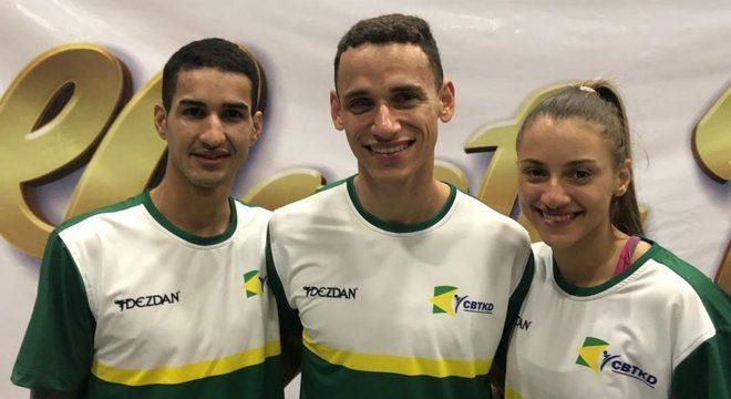 Netinho, Ícaro e Milena, os três classificados para os Jogos de Tóquio
