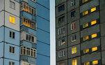 Mas tudo na cidade é preparado para suportar o frio intenso. Até mesmo a arquitetura dos prédios, que são quadradospara proteger os pátios interiores do ventoVALE SEU CLIQUE:Fotógrafo amador registra pássaros formando uma 'Estrela da Morte'