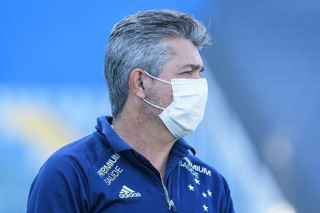 NEY FRANCO: O técnico está sem clube desde que deixou o Cruzeiro, em outubro de 2020. Foram apenas sete partidas do profissional no comando da Raposa