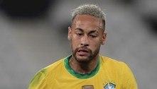 Neymar está à frente de Messi nesta Copa América