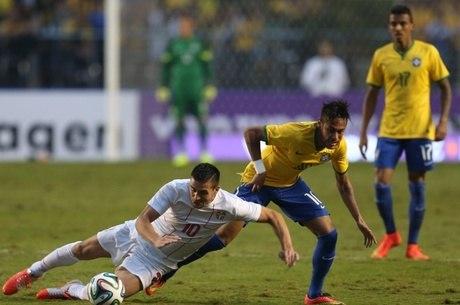Neymar foi muito vaiado no Morumbi