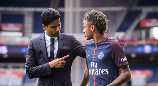Nasser se sente traído por Neymar. A volta ao Barça nas mãos do dirigente