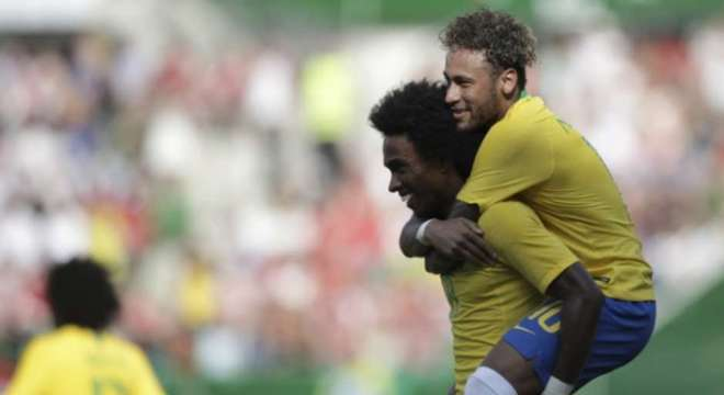 Neymar está confiante na conquista do hexacampeonato mundial do Brasil