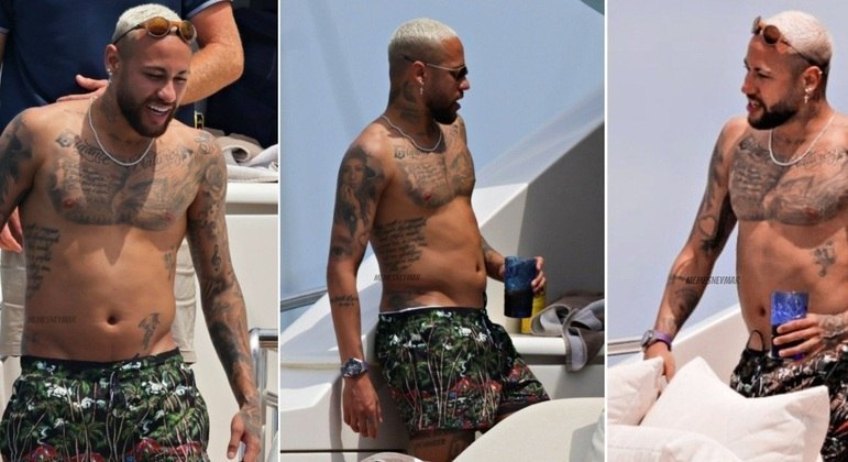 Neymar foi duramente criticado por sua forma física nas férias. Pela imprensa francesa